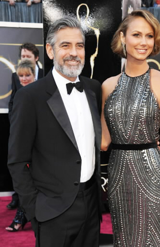 George Clooney at the 2013 Oscars - Runner Up: Best Notch Lapels