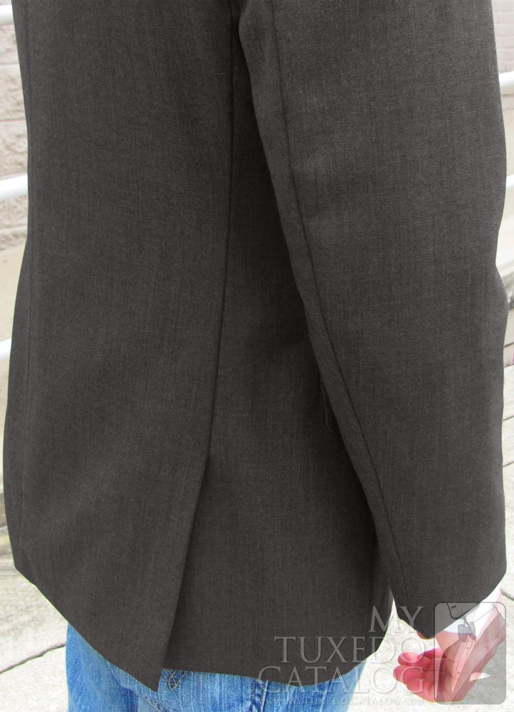 Steel Grey 'Allure Men' Tuxedo - Side Vents