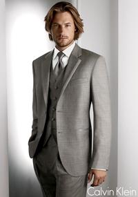 Calvin Klein Grey 'Legend' Tuxedo