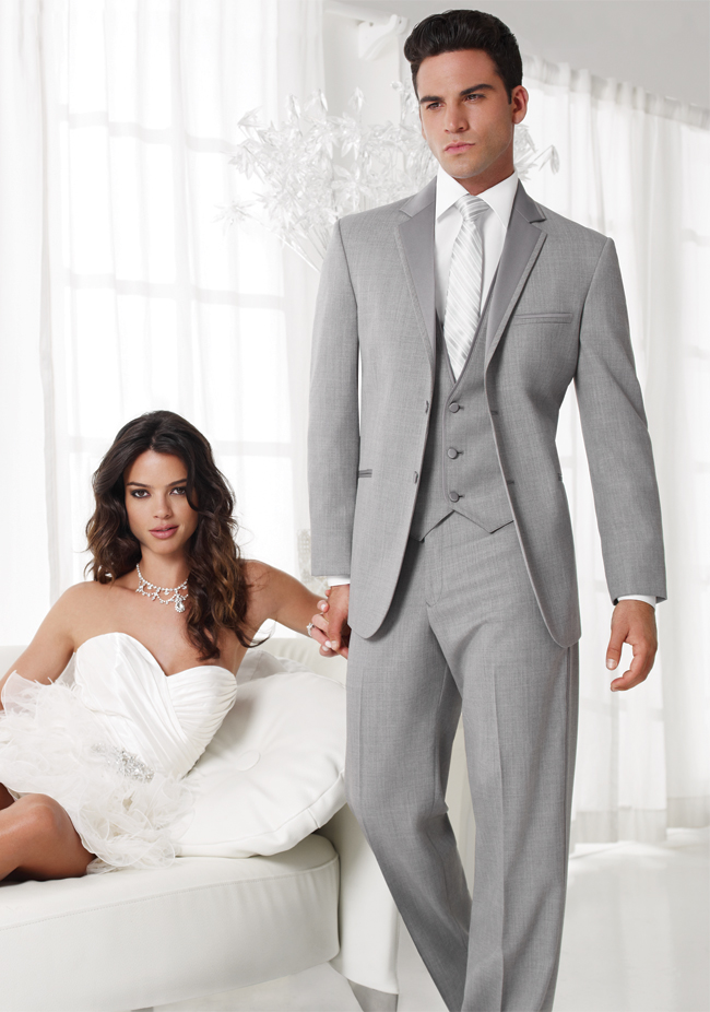 Jean Yves Heather Grey 'Twilight' Tuxedo