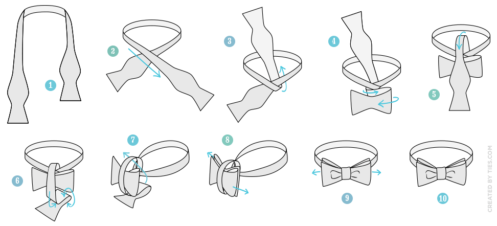 How to Tie a Bow Tie in 10 Easy Steps
