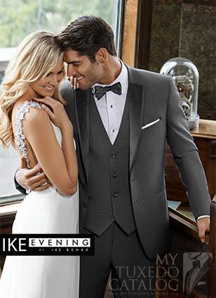 Ike Behar Grey 'TBD' Tuxedo