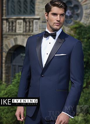 Ike Behar Navy 'Blake' Tuxedo
