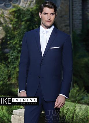 Ike Behar Navy 'Collin' Suit