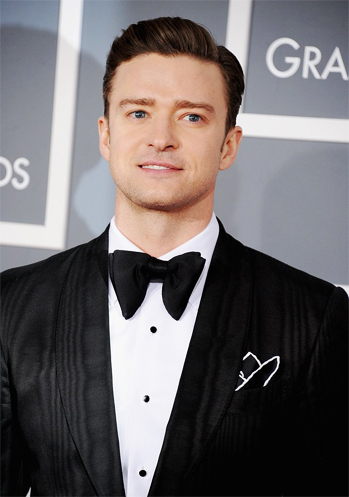 Justin Timberlake at the 2013 Grammy's!
