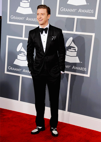 Justin Timberlake at the 2013 Grammy's!