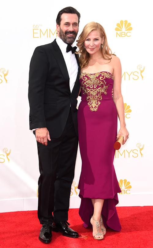 Jon Hamm in Black Tie at the 2014 Emmy Awards