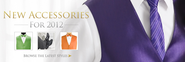 New Mens Formal Wear Acessories for 2012!