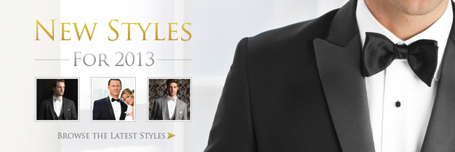 9 New Rental Tuxedo Styles for 2013!