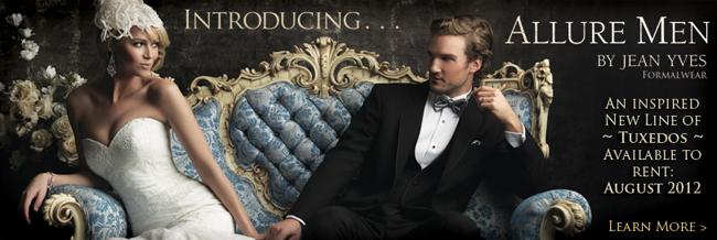 Tuxedo Review: The New 'Allure Men' Tuxedo Line by Jean Yves