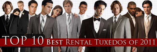 Top Ten Tuxedo Rental Styles for 2011