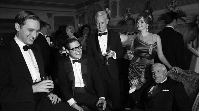Mad Men in Classin Black Tie