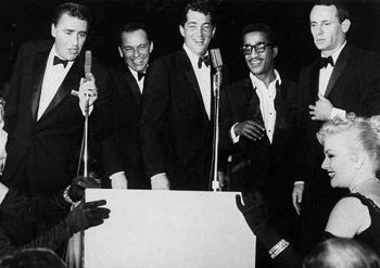 The 'Rat Pack', Circa 1961