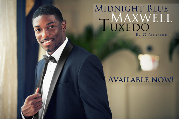 Midnight Blue 'Maxwell' Tuxedo by G. Alexander