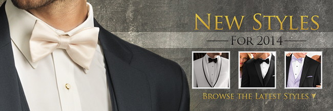 8 New Rental Tuxedo Styles for 2014!