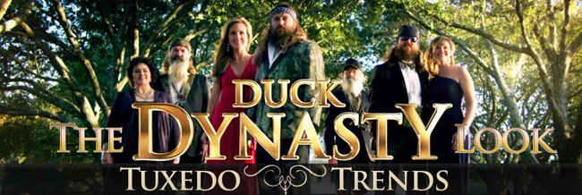 Tuxedo Trends: The Duck Dynasty Look