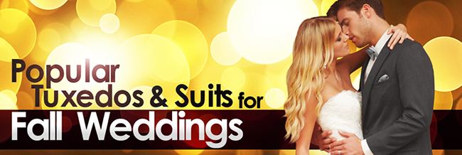 Fall Weddings: Autumn Formal Tuxedos & Suits - Updated