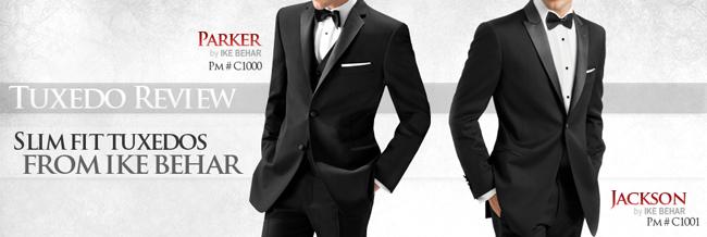 Tuxedo Review: Ike Behar Slim Fit Tuxedos
