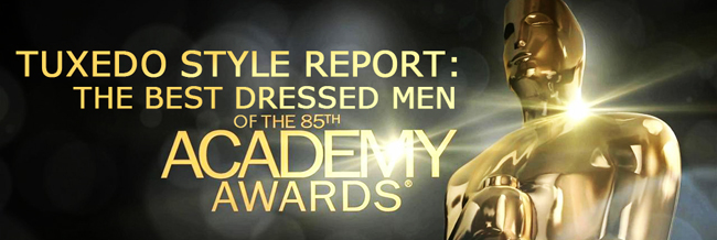 Tuxedo Style Report: Best Dressed Men of the 2013 Oscars!