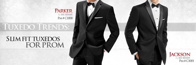 Tuxedo Trends: Slim Fit Prom Tuxedos!
