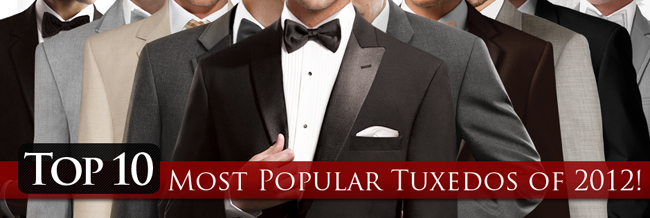 The Top 10 Most Popular Rental Tuxedos for 2012!