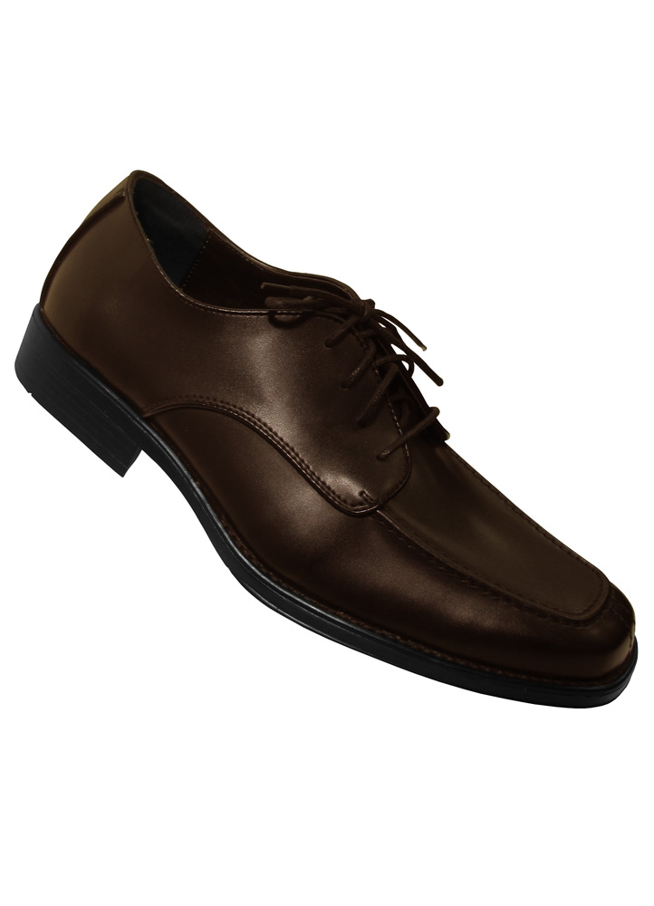Dark Brown 'Stanford' Tuxedo Shoe