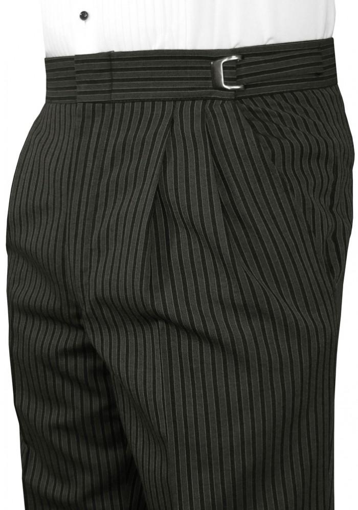 Grey Hickory Stripe Pant Pants Mytuxedocatalog Com