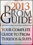 Tuxedo Guide to Prom Season 2013!