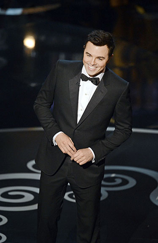 Seth McFarland at the 2013 Oscars - Winner: Best Notch Lapels