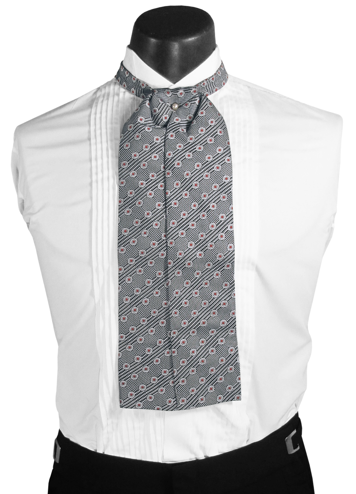 Grey Ascot Cravat: PM# TA490