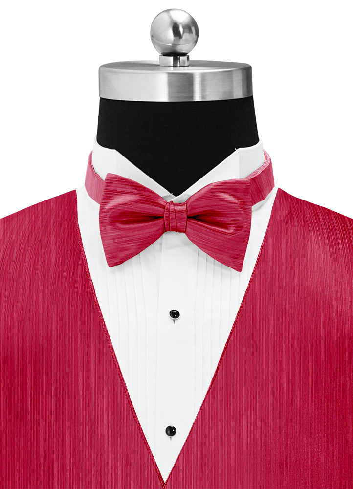 Strawberry Matching Bow Tie
