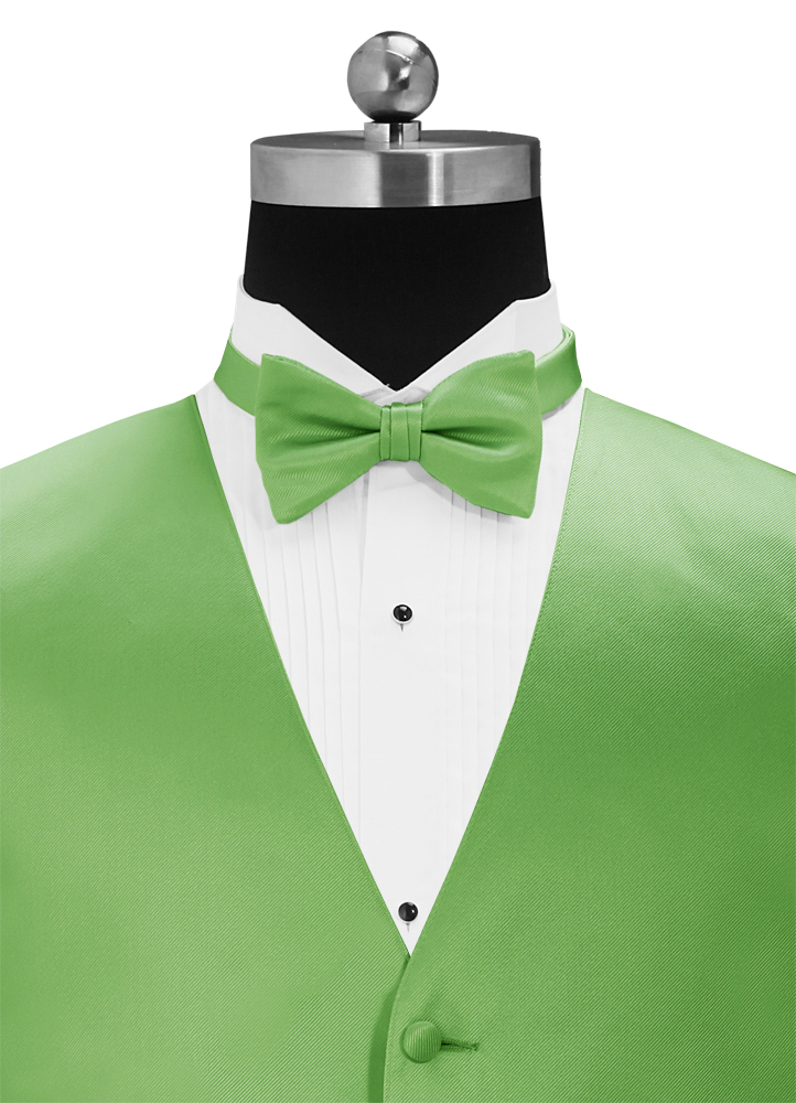 Kelly Green 'Simply Solid' Bow Tie