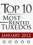 Top Ten Tuxedo Styles for January 2012!