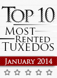 Top Ten Tuxedo Styles for January 2014!