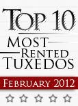 Top Ten Tuxedo Styles for February 2012!