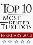 Top Ten Tuxedo Styles for February 2013!
