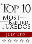 Top Ten Tuxedo Styles for July 2012!
