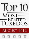 Top Ten Tuxedo Styles for August 2012!