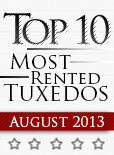 Top Ten Tuxedo Styles for August 2013!