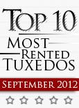 Top Ten Tuxedo Styles for September 2012!