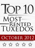 Top Ten Tuxedo Styles for October 2012!