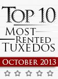 Top Ten Tuxedo Styles for October 2013!