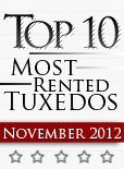 Top Ten Tuxedo Styles for November 2012!