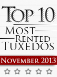 Top Ten Tuxedo Styles for November 2013!