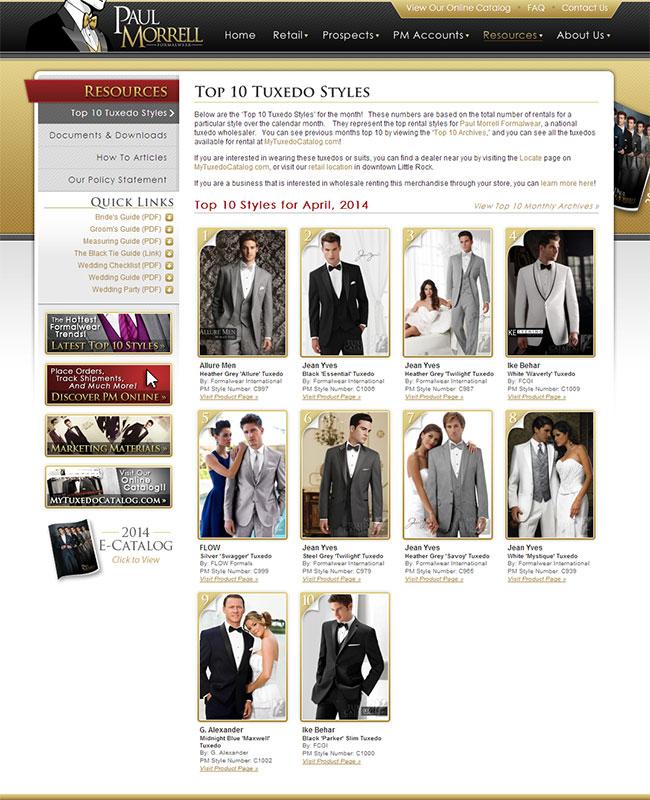 Top Ten Rental Tuxedo Styles for April 2014!