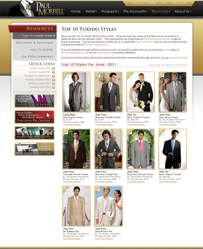 Top 10 Tuxedo Styles for June, 2011