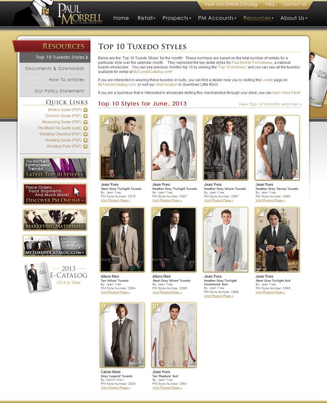 Top Ten Rental Tuxedo Styles for June 2013!