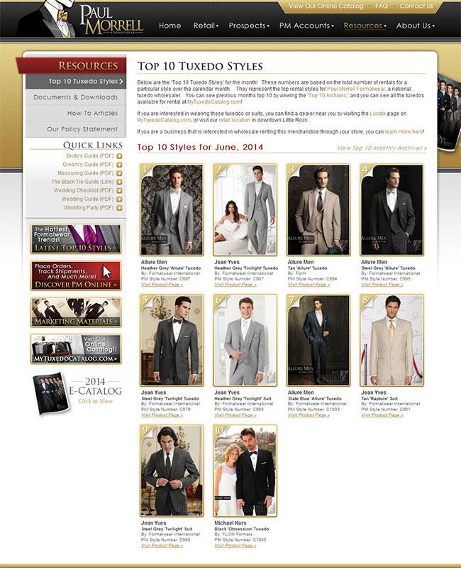 Top Ten Rental Tuxedo Styles for June 2014!