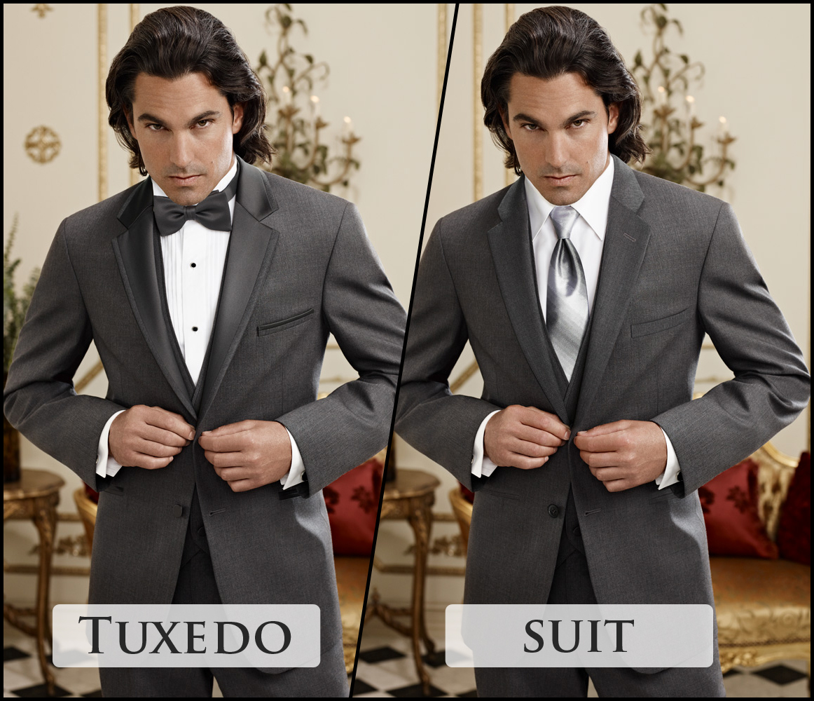 Should I wear a Tuxedo or a Suit for my wedding?