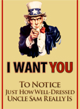 Uncle Sam is One Well-Dressed American Icon